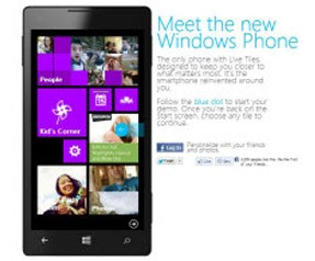 Windows Phone simülasyonunda yenilik.