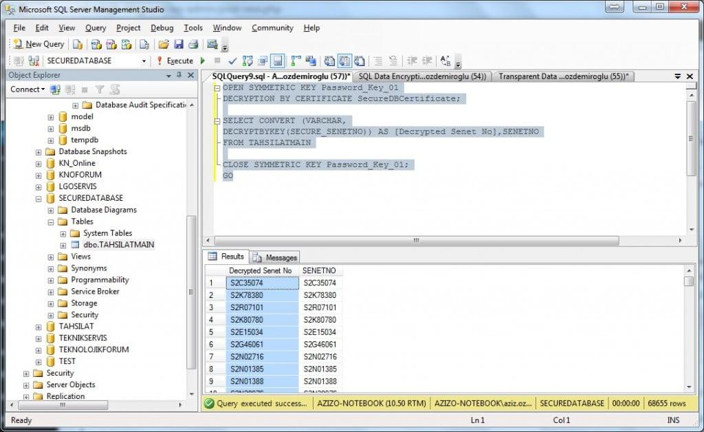 SQL_Decrypt